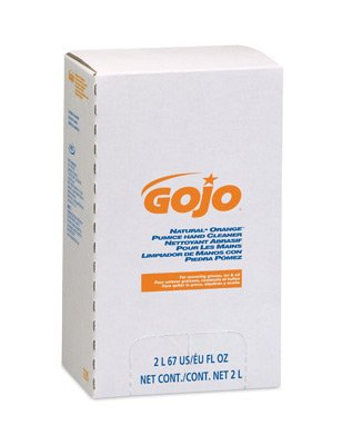 GOJO - Refill Natural Orange PRO Hand Cleaner With Pumice Scrubbing Particles - Size: 2000 ml