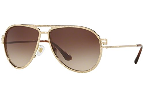 Versace Women's VE2171B Pale Gold/Brown - Sunglasses 2171