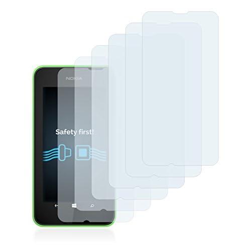 35afd1af199 Savvies Nokia Lumia 530 Protector Pantalla Pelicula Protectora [6 Unidades] Screen  Protector