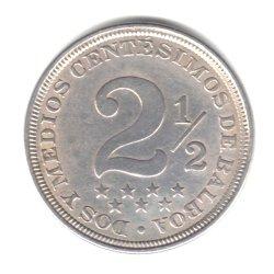 Review 1907 Panama 2 1/2 Centesimos Coin KM#7.1
