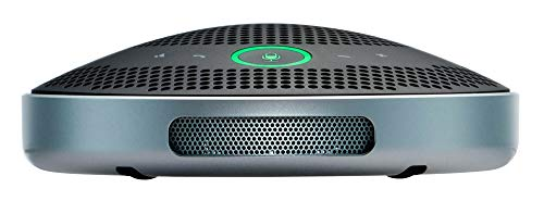 Bluetooth-Speakerphone-Yamaha-UC-YVC-200-Wireless-Mobile-Conference-Phone-Portable-USB-Speakerphone-for-Conferencing-Black