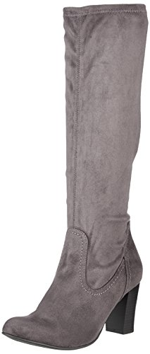 stretch Anthra Femme Bottes Anthra Gris 25503 Caprice Grau Stretch 8vFxwa8nq