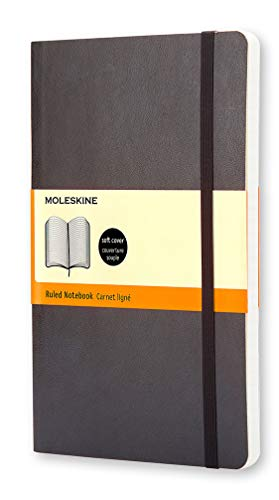 - Moleskine Classic Notebook, Soft Cover, Large (5