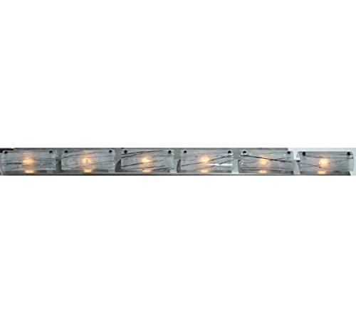 Meyda Tiffany 109617 Metro Fusion Branches 6 Light Glass Vanity Light Fixture, 73