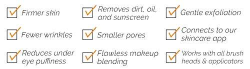 Clarisonic Mia Smart + La Roche Posay Amazon Exclusive Set for Oily, Shiny, or Dry, Sensitive Skin by Clarisonic (Image #10)