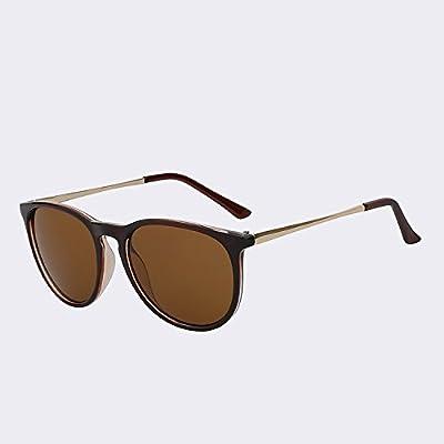 2446c55ae73c3f TIANLIANG04 Lunettes de soleil Homme Femme Lunettes de Keyhole rond-point  classique de la mode