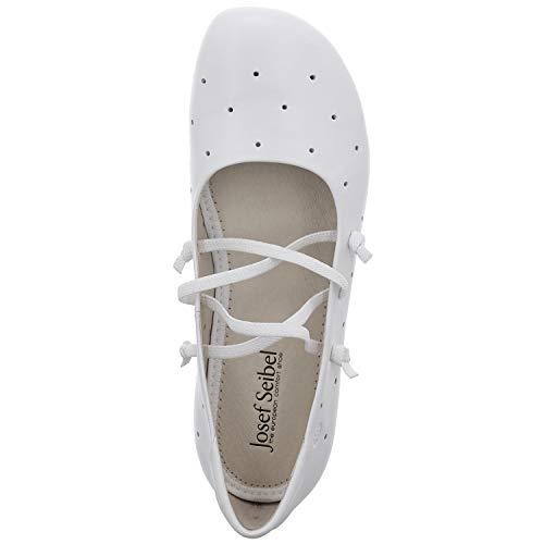 Bailarinas Blanco 000 Josef 11 Fiona Mujer weiss Seibel Para wcqwtSr7z