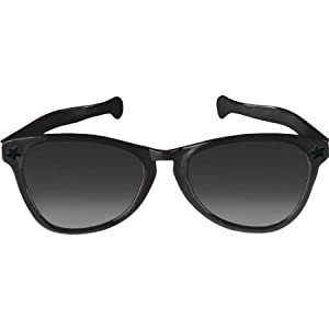 Black Jumbo Sunglasses