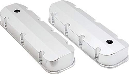 Bb Chevy Short - Pirate Mfg Chevy Bb BBC V8 Short Bolt Fabricated Aluminum Baffled Valve Covers 396-502 1965-1995