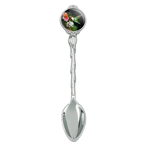 (Ruby's Hummingbird Flower Garden Novelty Collectible Demitasse Tea Coffee Spoon)