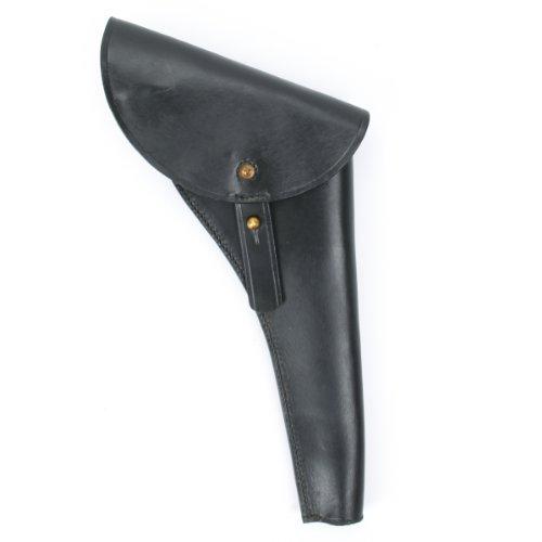 (U.S. Civil War Percussion Revolver Black Leather Holster- Right Hand Draw)