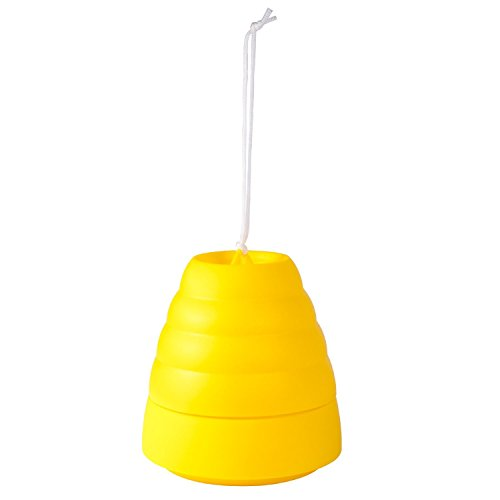schome-portable-plastic-beehivewasp-trap-bee-catcher-yellow-jacketshornet-traps-garden-pest-control