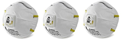 3M Personal Protective Equipment 70071606589 3M 8210V Particulate Respirator, N95 Respiratory Protection (Case of 80) (3-(Case of 80)) by 3M Personal Protective Equipment (Image #1)