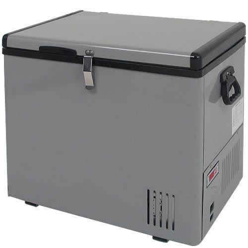 12 Volt Portable 43 Qt. Chest Fridge & Freezer, Outdoor RV C