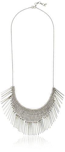 Lucky Brand Silver Major Fringe Necklace, 30