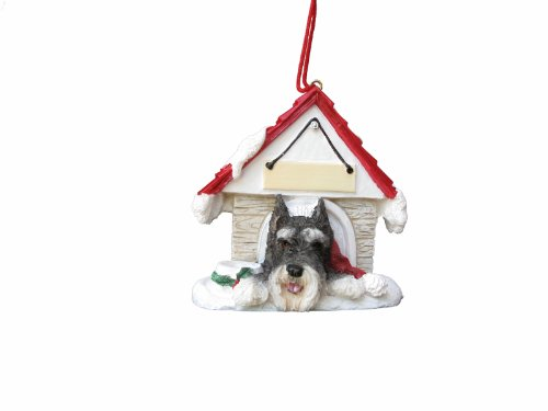 (Schnauzer Ornament A Great Gift For Schnauzer Owners Hand Painted and Easily Personalized