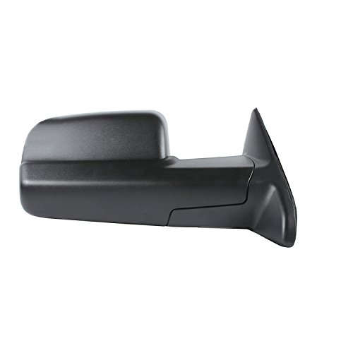 (Fit System 60193C Dodge/Ram 1500, 2500, 3500 Right Manual Replacement Towing Mirror)