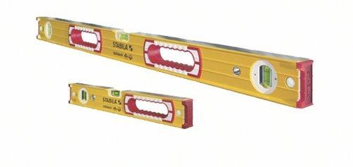 Stabila 37816 48-Inch and 16-Inch Aluminum Box Beam Level Set by Stabila