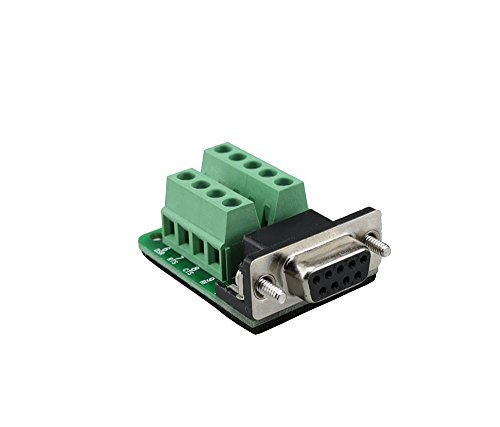 DB9 Breakout Connector RS232 Serial 9 Pin Connector Db9 Terminal Female with Screw