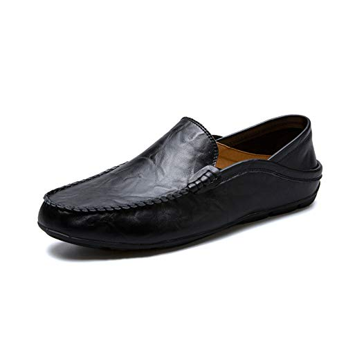 K&T Oxford Leather Loafers Shoes Men's Moccasin Slippers for sale  Delivered anywhere in Canada