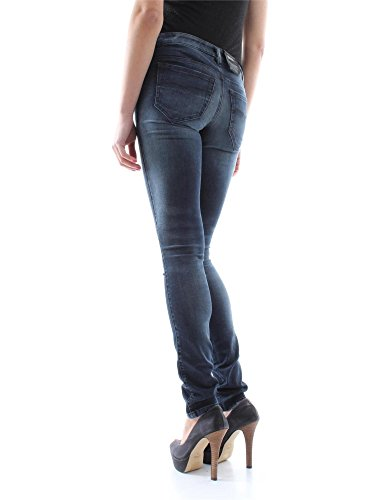 Diesel Jeans Femme Stretch SKINZEE-LOW 0668K skinny bleu foncé