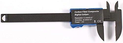 YASE-king Vernier Caliper 0-100mm Plastic Digital Caliper Digital Display Vernier Caliper Electronic Caliper (Size : 0-100mm)