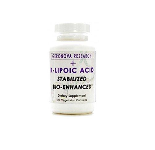 Geronova Research, R-Lipoic Acid 300mg 120 vcaps by Geronova Research
