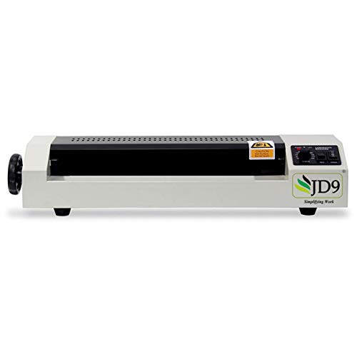 JD9 Lamination Machine- Fully Automatic Professional Laminating Machine/Laminator for Upto A3 Size with Hot and Cold Lamination (Photos ID,I-Card,Certificate)