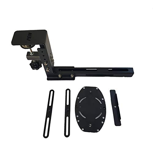 J-Pein The Steel Desk Mount for The Flight sim Game Joystick, Throttle and hotas Systems. Fully Support Almost All of Flight sim Game Hand-Control Devices. (not Include Game-Device)