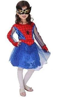 ranrann Disfraz de Superheroina para Niña Vestido Tutú con ...