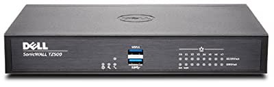 SonicWALL | 01-SSC-0445 | SonicWALL TZ500 Network Security Firewall, Base Appliance plus Comprehensive Gateway Security Suite, 1 Year Service Included