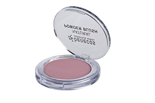 Blush Type Rose (Benecos Powder Blush - Pink Blush for Natural Glow - All Skin Types, Organic Makeup (Mallow Rose))
