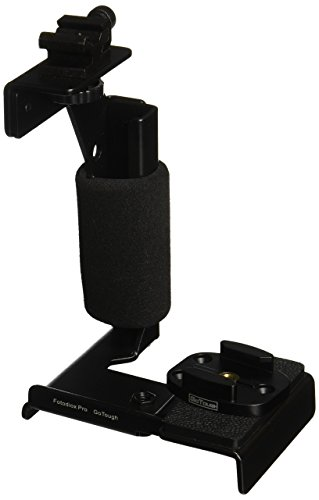 Fotodiox GoTough Grip Metal Camera Light Bracket with Action Grip for Gopro Hero2, Hero3/3+ and Hero4 Cameras and All GoPro Adapter Mounts