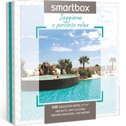 Cofanetto regalo Smartbox Soggiorno E Percorso Relax: Amazon.it ...
