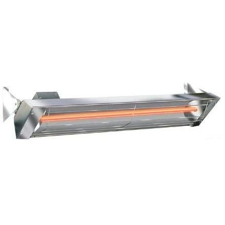 - Infratech W4024SS Single Element - 4000 Watt Electric Patio Heater, Choose Finish: Stainless Steel