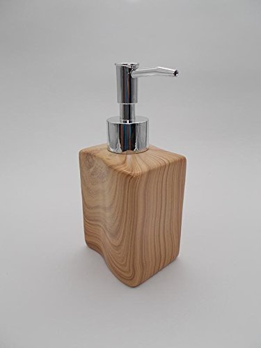 TOTO�s Wooden paint Spiral curl Soap Dispenser (1 Piece) (Material: Ceramic)