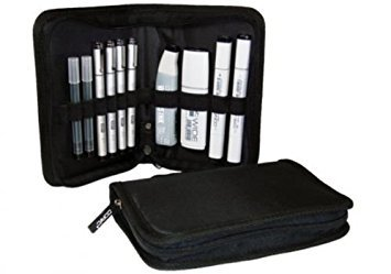 COPIC BIPWAL BLACK INK PRO WALLET SET/10