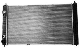 ma 1-Row Plastic Aluminum Replacement Radiator (1 Row Replacement)