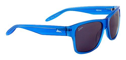 Dizm Eco Eyewear Dempsey+ Smoke Sunglass, Cobalt Blue, One - Sunglasses Dizm