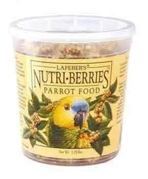 Lafebers Nutri-Berries Parrot Food, 12 Ounce Container - Lafeber Nutri Meals