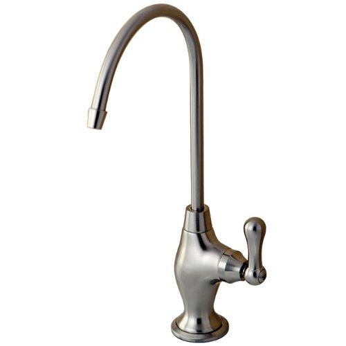 Kingston Brass Gourmetier KS3198AL Restoration Single Handle Water Filtration Faucet, Brushed Nickel