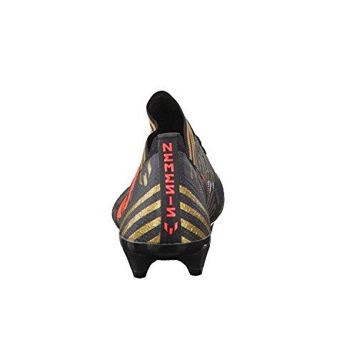 Adidas Mænd Nemeziz Messing 17.1 Fg Fodboldstøvler, 46 Eu Sort (cSort / Solred / Tagome)