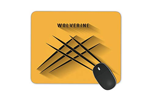 JNKPOAI The Cartoon Mouse Pad with Various Styles Wolverine Marvel Anti-Slip Mouse Pad Office Mouse Pad Computer Game Mouse Pad (Wolverine)