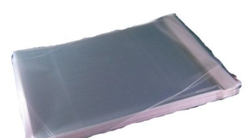 500 9x12 SELF SEAL FLAP TAPE CLEAR UNEEKMAILERS POLY BAGS POLYPROPYLENE OPP BAGS 1.5 MIL