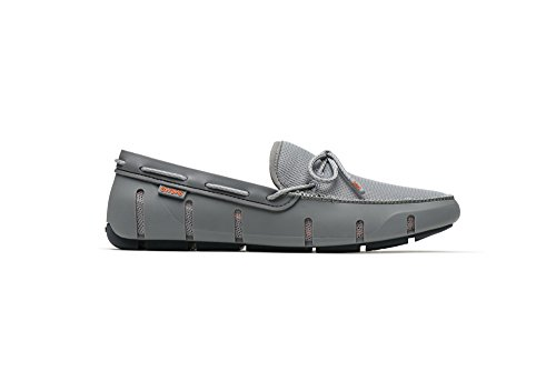 SWIMS Stride Lace Loafer In Gray/Black Fleck, Size 11 by SWIMS