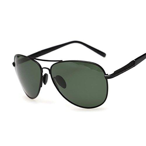 Green De Polarizador Controladores Color Gafas 2 1 Vintage Conducir QZ HOME Sol Negro BqEwK1PO