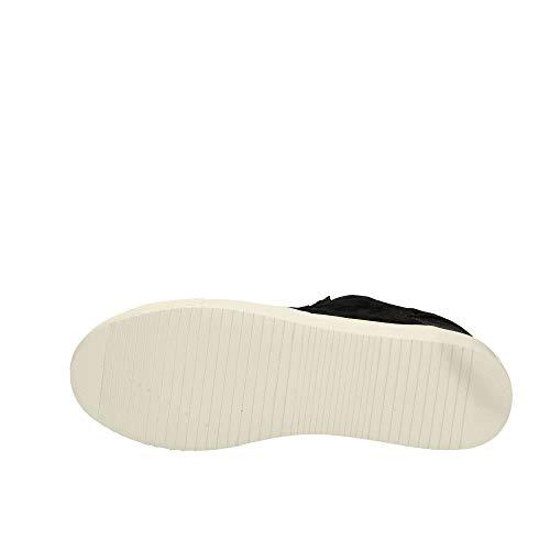 Colmar Nero Camoscio Sneakers Glitter Bradbury 37 Lux Lacci Donna WwqavA