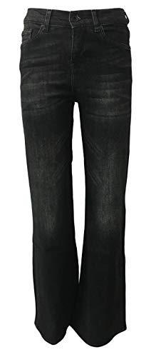 SEVEN7 Jeans pour Les Femmes  Pattes dlphant Taille Haute Mod Rafaella 2958824 VERDEBLK