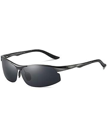 d6371c19cc WHCREAT Unisex Retro Polarized Sunglasses Vintage Design with Unbreakable  Spring Hinge for Men and Women (