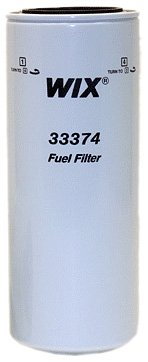 33374 Heavy Duty Spin-On Fuel Filter WIX Filters Pack of 1